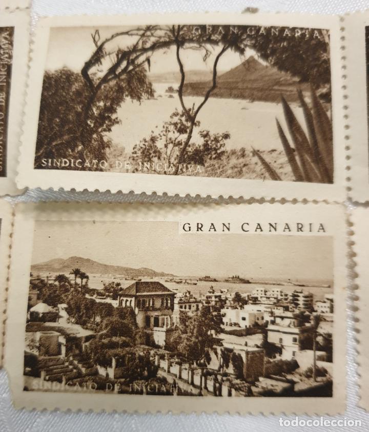 Sellos: CURIOSO LOTE DE SELLOS DE GRAN CANARIA,SINDICATO DE INICIATIVA,SIN MATASELLAR - Foto 2 - 156613658