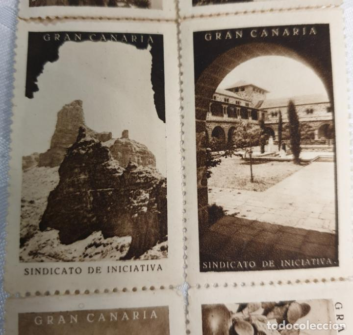 Sellos: CURIOSO LOTE DE SELLOS DE GRAN CANARIA,SINDICATO DE INICIATIVA,SIN MATASELLAR - Foto 4 - 156613658