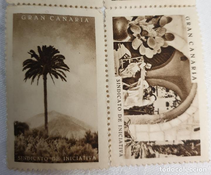 Sellos: CURIOSO LOTE DE SELLOS DE GRAN CANARIA,SINDICATO DE INICIATIVA,SIN MATASELLAR - Foto 5 - 156613658