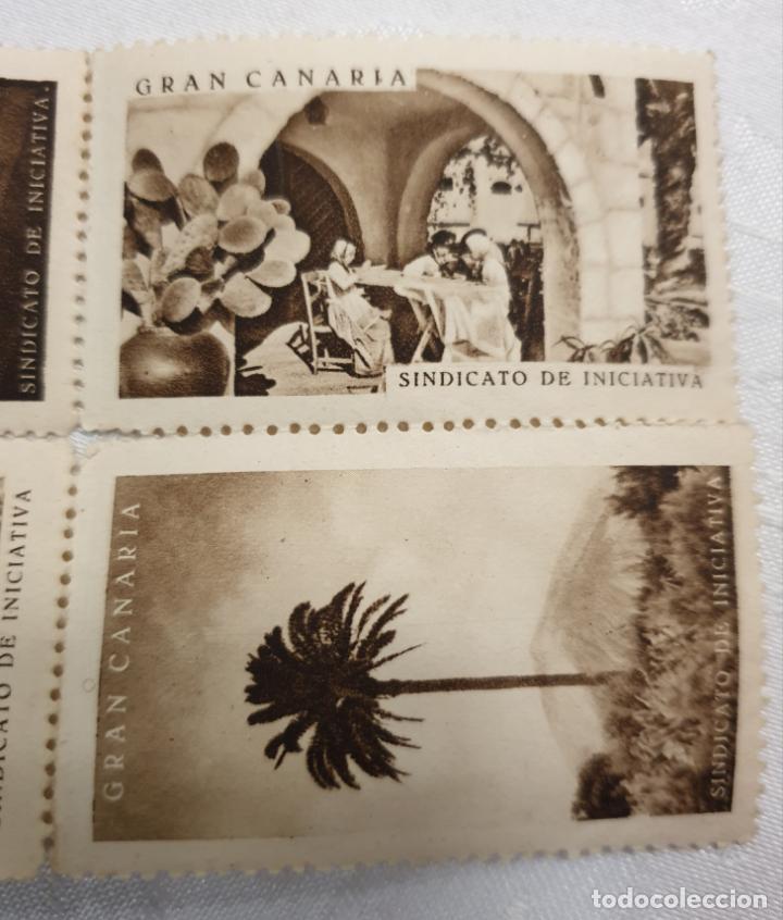 Sellos: CURIOSO LOTE DE SELLOS DE GRAN CANARIA,SINDICATO DE INICIATIVA,SIN MATASELLAR - Foto 6 - 156613658