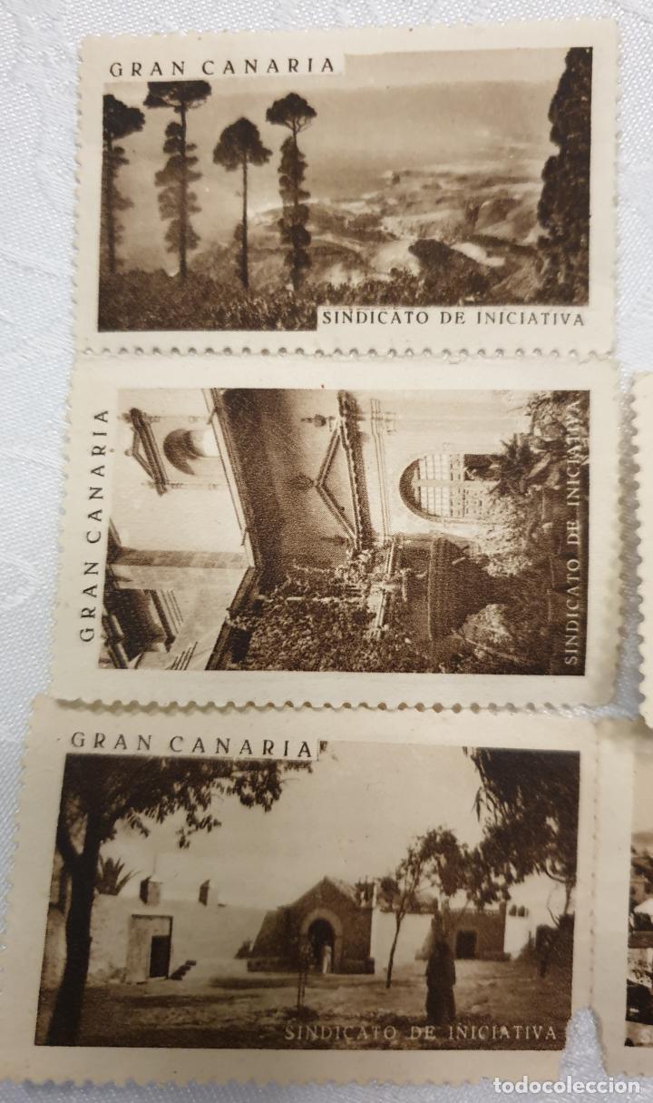 Sellos: CURIOSO LOTE DE SELLOS DE GRAN CANARIA,SINDICATO DE INICIATIVA,SIN MATASELLAR - Foto 7 - 156613658