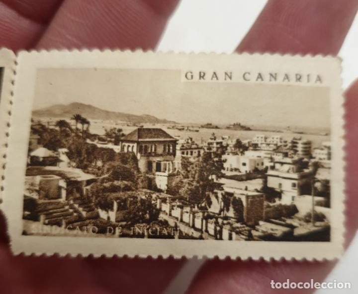 Sellos: CURIOSO LOTE DE SELLOS DE GRAN CANARIA,SINDICATO DE INICIATIVA,SIN MATASELLAR - Foto 9 - 156613658