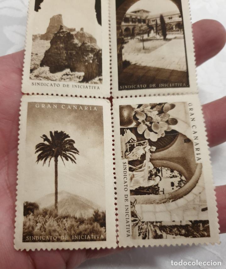 Sellos: CURIOSO LOTE DE SELLOS DE GRAN CANARIA,SINDICATO DE INICIATIVA,SIN MATASELLAR - Foto 12 - 156613658