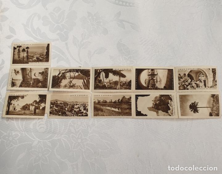 Sellos: CURIOSO LOTE DE SELLOS DE GRAN CANARIA,SINDICATO DE INICIATIVA,SIN MATASELLAR - Foto 13 - 156613658