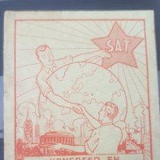 Sellos: 1936 VIÑETA ESPERANTO KONGRESO EN MANCESTRO. Lote 156832949