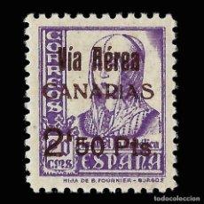 Sellos: SELLOS.ESPAÑA.CANARIAS.1937.SELLOS REPUBLICANOS NACIONALES HABILITADO.2,5 P S 20C. NUEVO** EDIF 47. Lote 157491378