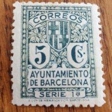 Sellos: ESPAÑA : BARCELONA N°9 CON FIJASELLOS. Lote 158088088