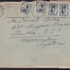 Sellos: CM2-14- CARTA BARCELONA -INGLATERRA 1932. FRANQUEO MIXTO 2 EMISIONES . Lote 158186374