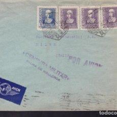 Sellos: CM2-15- CARTA BARCELONA-ITALIA 1939. CENSURA PALMA MALLORCA. Lote 158186746