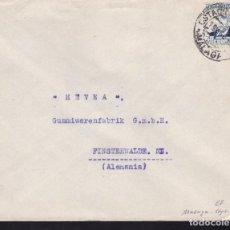 Sellos: CM2-22- CARTA ESTACIÓN INVIERNO MÁLAGA- SUIZA 1938. TAMPÓN R. HERLINGER. Lote 158208882