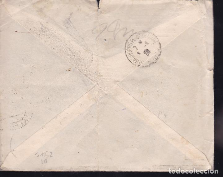 Sellos: CM2-28- Carta SOLLER (Baleares)- FRANCIA 1939. Censura - Foto 2 - 158232490