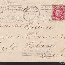 Sellos: CM2-46- CARTA SAN SEBASTIÁN- CUBA 1936. BONITOS RODILLOS PUBLICITARIOS . Lote 158252890
