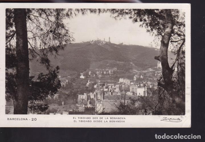 CM2-58- POSTAL TIBIDABO BARCELONA - AUSTRALIA 1936. SELLO VUELO MANILA-MADRID (Sellos - España - Guerra Civil - De 1.936 a 1.939 - Cartas)