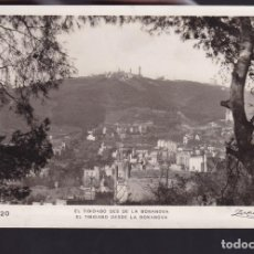 Sellos: CM2-58- POSTAL TIBIDABO BARCELONA - AUSTRALIA 1936. SELLO VUELO MANILA-MADRID . Lote 158274986