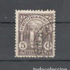 Sellos: SELLO BENEFICENCIA MUNICIPAL DE RONDA - 5 CTS. Lote 158844346