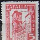Sellos: ESPAÑA GUERRA CIVIL - VIÑETA - BENEFICIENCIA TAFALLA - NUEVA SIN GOMA. Lote 160130790
