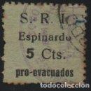 Sellos: ESPINARDO-MURCIA- 5 CTS,--PRO-EVACUADOS- SOFIMA Nº 1, VER FOTO. Lote 160173538