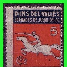 Selos: BARCELONA, PINS DEL VALLÉS, GUERRA CIVIL, FESOFI Nº 13 * *. Lote 160520266