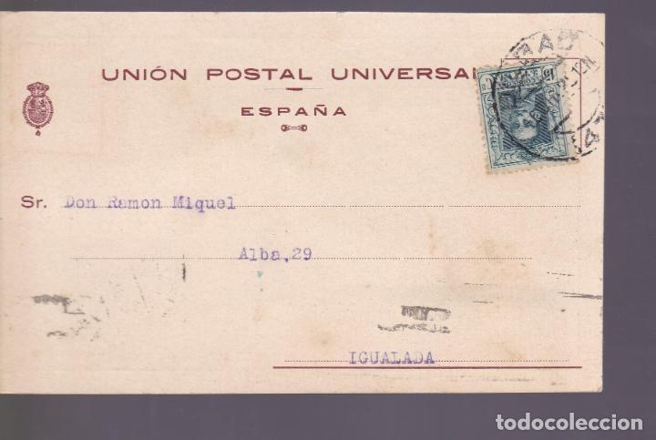 CM2-83-TARJETA UNIÓN POSTAL UNIVERSAL ALMACÉN CURTIDOS BILBAO 1925 (Sellos - España - Guerra Civil - De 1.936 a 1.939 - Cartas)