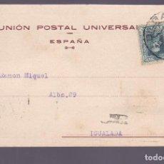 Sellos: CM2-83-TARJETA UNIÓN POSTAL UNIVERSAL ALMACÉN CURTIDOS BILBAO 1925. Lote 160975622