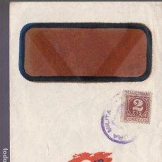 Sellos: CM2-81- GUERRA CIVIL CARTA IMPRESOS KROMP BARCELONA. MATASELLOS CENSURA . Lote 160978706