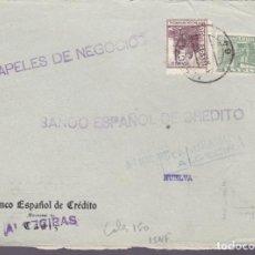 Sellos: CM2-76- GUERRA CIVIL.FRONTAL ALBURQUERQUE (BADAJOZ)- HUELVA 1937?. LOCAL. Lote 160986774
