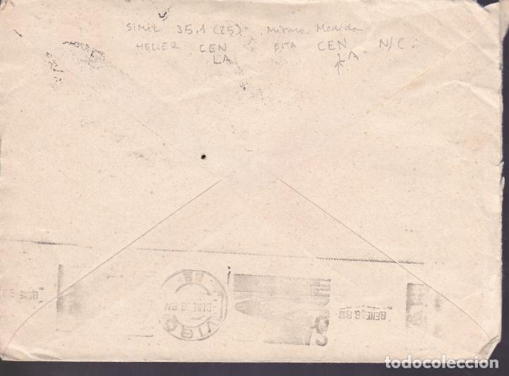 Sellos: CM2-70- Guerra Civil. Carta LA ESTRADA- VIGO (Pontevedra) 1938. Local y Censura - Foto 2 - 160992078