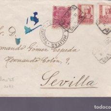 Sellos: CM2-70- GUERRA CIVIL. CERTIFICADO GRANADA- SEVILLA 1937. LOCAL Y CENSURA . Lote 160993110