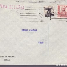 Sellos: CM2-61- GUERRA CIVIL. CARTA BILBAO- VIGO . 1937. LOCAL, . CENSURA. Lote 160998118