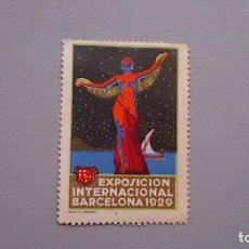 Sellos: 1929 - VIÑETA - EXPOSICION INTERNACIONAL DE BARCELONA 1929 - MNH** - NUEVO - CENTRADO. Lote 161009830