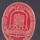 Sellos: CC33- VIÑETA JUEGOS OLIMPICOS BERLIN 1936. Lote 161103118