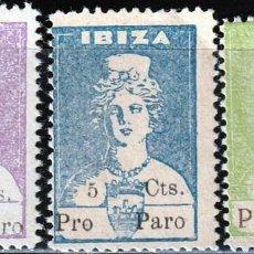 Sellos: IBIZA (ISLAS BALEARES). 1936. GUERRA CIVIL,DIOSA TANIT .SELLOS LOCALES . **.,MNH. Lote 161122838