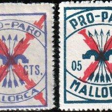 Sellos: MALLORCA .GUERRA CIVIL. PRO PARO. SELLOS LOCALES. 5 CTS.**.MNH. Lote 161127006