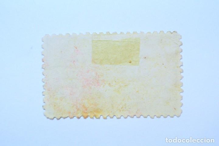 Sellos: Sello postal ESPAÑA 1939, 4 Pts, JUAN DE LA CIERVA, Usado - Foto 2 - 161186054