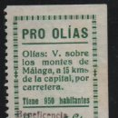 Sellos: PRO OLIAS, 5 CTS, SOBRECARGA. -BENEFICENCIA- VER FOTO. Lote 161696438
