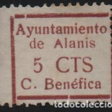 Sellos: ALANIS--SEVILLA- 5 CTS, VER FOTO. Lote 161697402