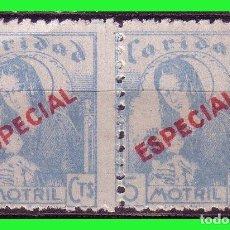 Sellos: GUERRA CIVIL MOTRIL GRANADA, FESOFI Nº 27 B2 (*). Lote 163049230