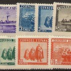 Sellos: ESPAÑA EDIFIL SH 849** MNH EN HONOR EJÉRCITO Y MARINA 1938 NL1135. Lote 164071054