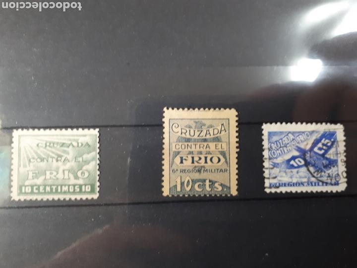 LOTE DE SELLOS INTERESANTES 63 (Sellos - España - Guerra Civil - Viñetas - Usados)