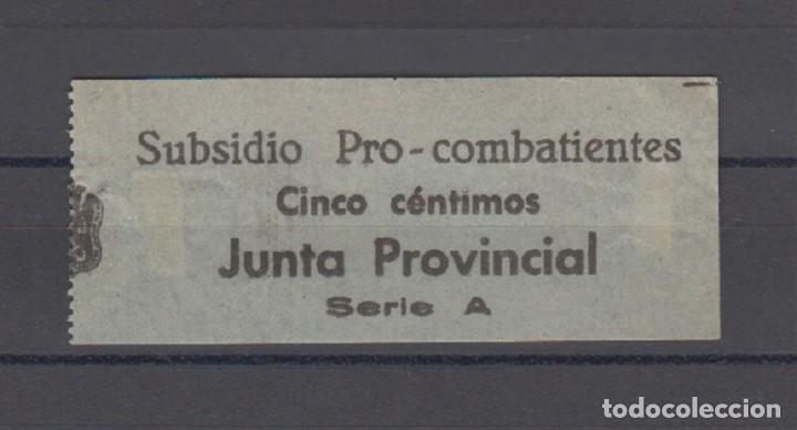 EDIFIL NO CATALOGADO. 5 CTS SUBSIDIO PRO - COMBATIENTES. (Sellos - España - Guerra Civil - De 1.936 a 1.939 - Nuevos)