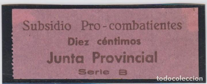 EDIFIL NO CATALOGADO. 10 CTS SUBSIDIO PRO COMBATIENTES. (Sellos - España - Guerra Civil - De 1.936 a 1.939 - Nuevos)