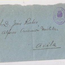 Stamps - SOBRE A AVIACIÓN MILITAR DE LEÓN. FRANQUICIA CORREOS. CORUÑA. GALICIA. - 165398702