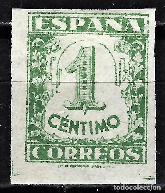 1936 ESPAÑA EDIFIL ED 802 MNH** JUNTA DE DEFENSA NACIONAL (Sellos - España - Guerra Civil - De 1.936 a 1.939 - Nuevos)