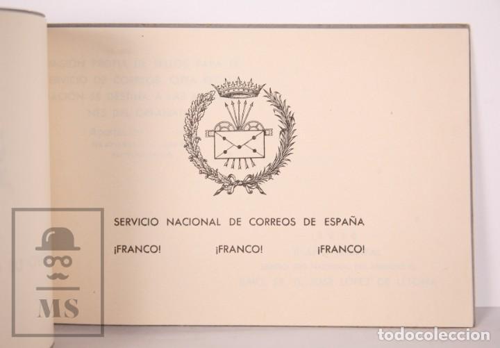 Sellos: Emisión Postal 1938 - Asociación Benéfica de Correos. Orfanato - Servicio Nacional Correos de España - Foto 3 - 165621414