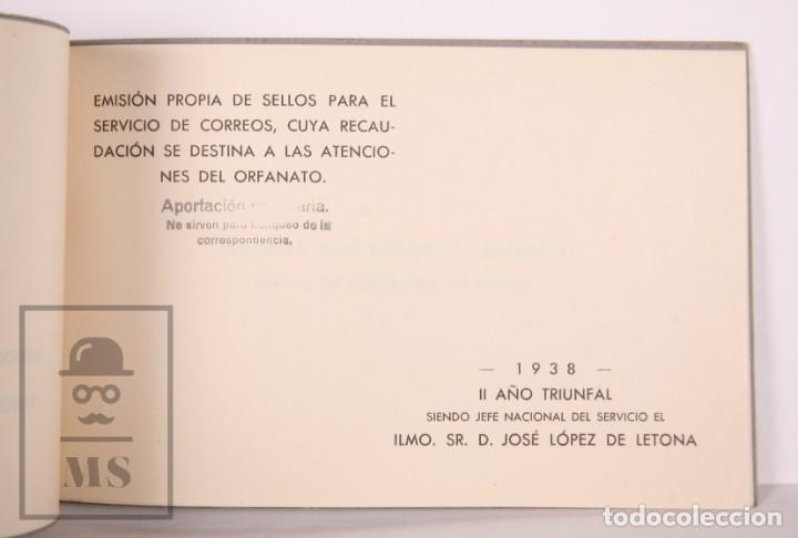 Sellos: Emisión Postal 1938 - Asociación Benéfica de Correos. Orfanato - Servicio Nacional Correos de España - Foto 4 - 165621414