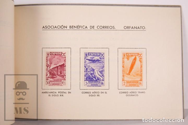 Sellos: Emisión Postal 1938 - Asociación Benéfica de Correos. Orfanato - Servicio Nacional Correos de España - Foto 7 - 165621414