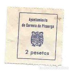 Sellos: AYUNTAMIENTO DE CERVERA DE PISUERGA 2 PTS. Lote 165972026