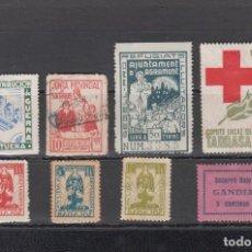 Sellos: LOTE DE 8 SELLOS REPUBLICANOS. Lote 166110398