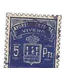 Sellos: AYUNTAMIENTO DE VIVERO SELLO MUNICIPAL 5PTS. Lote 166124838