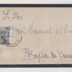 Francobolli: SOBRE CON CARTA. BENIA DE ONÍS. 1941. CENSURA MILITAR CANGAS. Lote 166205426